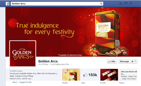 Golden arcs Biscuit with Indulgence Facebook