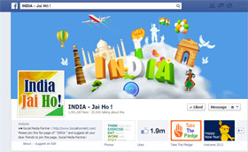 India Jai Ho Facebook Page All about India