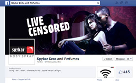 Spykar Deos and perfumes Facebook