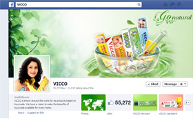 Vicco Aurvedic Medicine on Facebook Go natural
